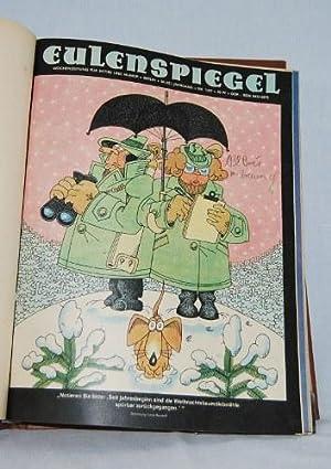 Eulenspiegel wochenzeitung f r satire und humor 34 42 for Spiegel wochenzeitung