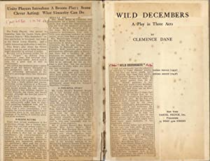 Wild Decembers : A Play in Three Acts: Dane, Clemence