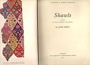 Shawls : A Study in Indo-European Influences: Irwin, John