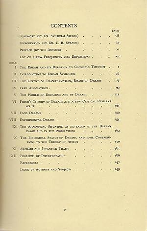 Psychological and Biological Foundation of Dream-Interpretation: Lowy, Samuel
