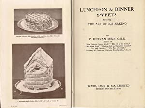 Luncheon & Dinner Sweets : Including the: Herman Senn, C.