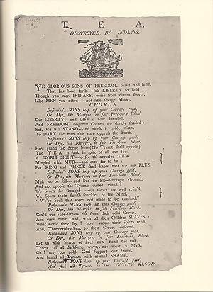 Massachusetts Broadsides of the American Revolution: Lowrance, Mason I., Bumgardener, Georgia B.