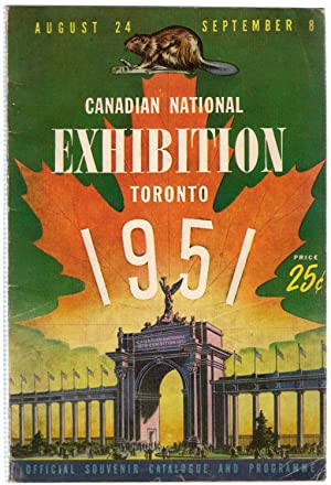 Canadian National Exhibition Guide , Toronto 1951