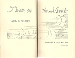 Deserts on the March: Sears, Paul B.