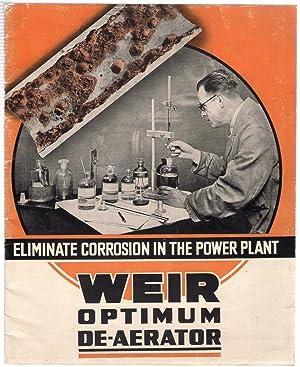 Eliminate Corrosion in the Power Plant : Weir Optimum De-aerator