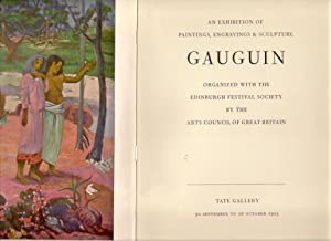 Gauguin : An Exhibition of Paintings, Engravings & Sculpture