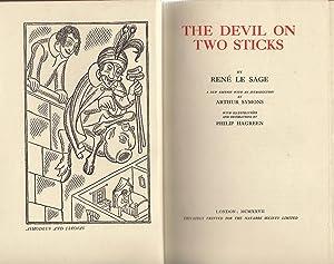 The Devil on Two Sticks: Le Sage, Rene