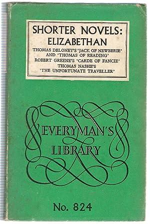 Shorter Novels: Elizabethan