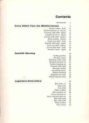 Anchor Book of European Embroidery: Kinmond, Jean