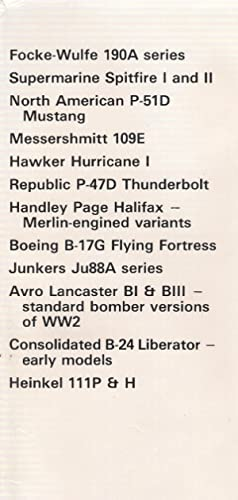 Classic Fighters and Bombers of World War II
