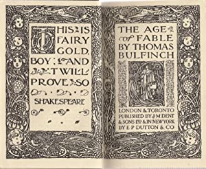 The Age of Fable: Bulfinch, thomas