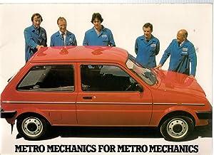 Austin Metro Dealership Launch Pack, September 1980