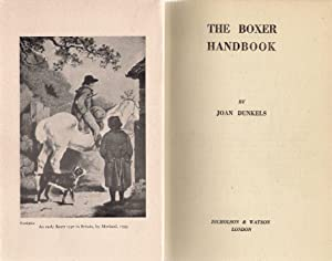 The Boxer Handbook : The Dog Lover's Library: Hubbard, Clifford L.B.