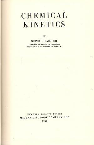 Chemical Kinetics: Laidler, Keith J.