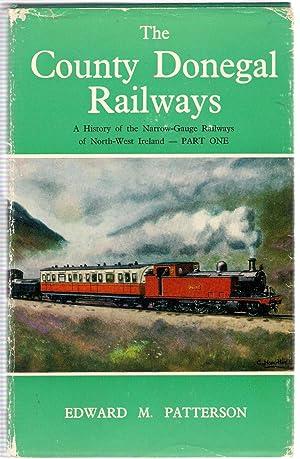 County Donegal Railways - A History of: Patterson, Edward Mervyn