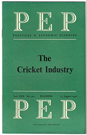 PEP Independant Research Organisation booklet No.401 : The Cricket Industry