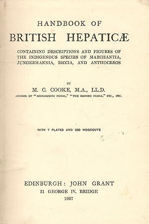 Handbook of British Hepaticae: Cooke, M.C.