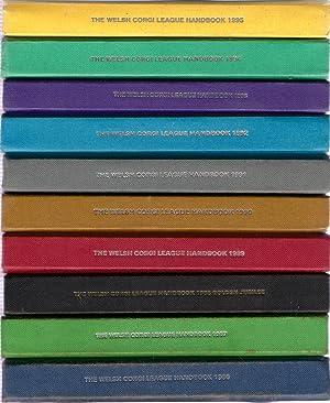 The Welsh Corgi League Handbook - 29 volumes. Full run, 1967 to 1995