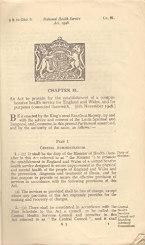 The National Health Service Act, 1946