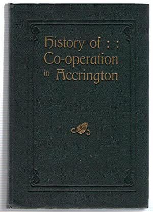 History of Co-operation in Accrington: Haslam, James