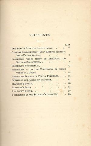 The Prophesies of the Brahan Seer: Mackenzie, Alexander
