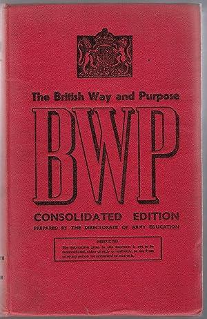 The British Way and Purpose