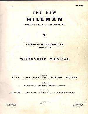 The New Hillman Minx Series 1, 2, 3, 3a, 3b & 3c