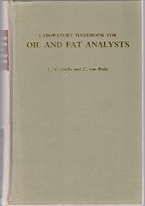 Laboratory Handbook for Oil and Fat Analysis: Cocks, L.V.