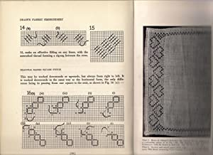 Drawn Fabric Embroidery: Leach, Agnes M.