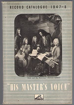 His Master's Voice Record catalogue 1947-48