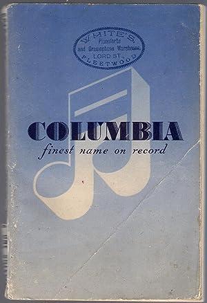 Columbia Record Catalogue 1949-50