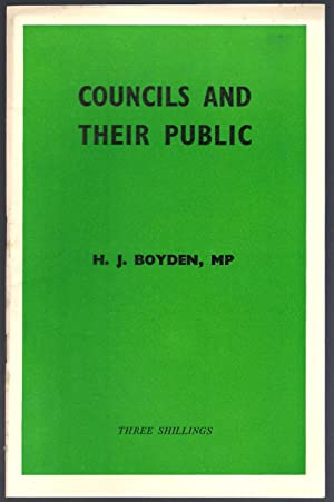 Councils and Their Public : The Fabian Society Research Series No. 221: Botden, H.J.