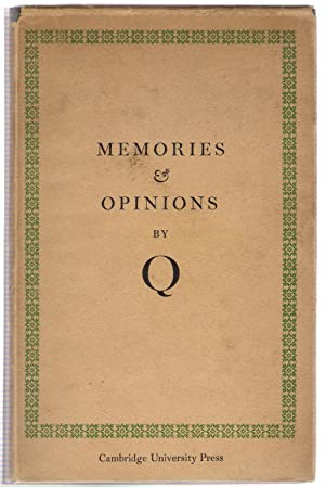 Memories & Opinions: Q