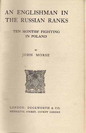 An Englishman in the Russian Ranks: Morse, John