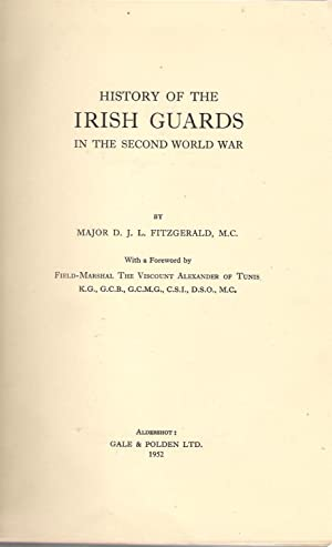 History of the Irish Guards in the Second World War