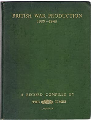 British War Production 1939-1945