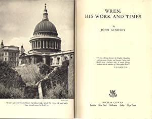 Wren: His Work and Times: Lindsey, John