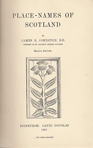 Place-Names of Scotland: Johnston, James B.