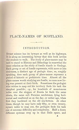 Place-Names of Scotland: Johnston, James B.