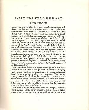 Early Christian Irish Art: Henry, Francoise