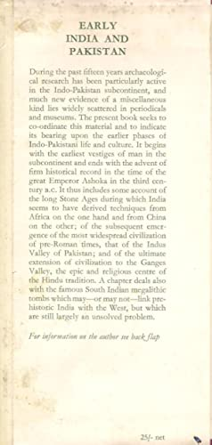 Early India and Pakistan: Wheeler, Mortimer