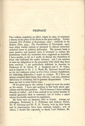 A Grammar of Politics: Laski, Harold J.