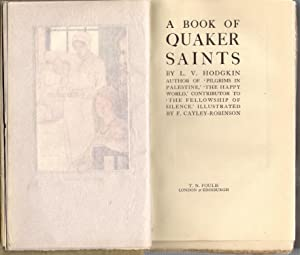 A Book of Quaker Saints: Hodgekin, L.V.