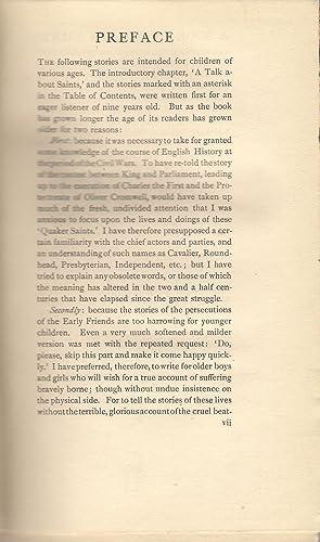A Book of Quaker Saints: Hodgekin, L.V.