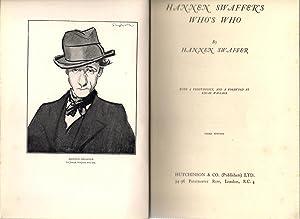 Hannen Swaffer's Who's Who: Swaffer, Hannen
