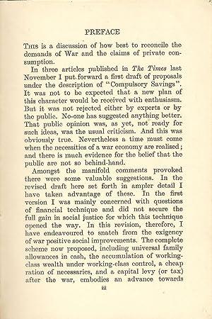 How to Pay for the War: Maynard Keynes, John