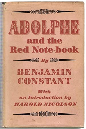 Adolphe and The Red Note-book: Constant, Benjamin