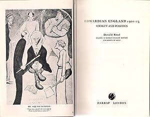 Edwardian England 1901-15 Society and Politics: Read, Donald