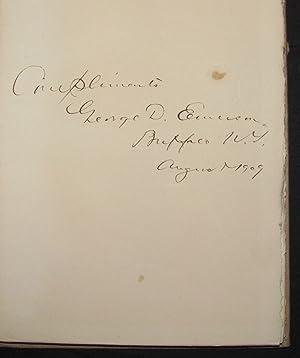 THE NIAGARA CAMPAIGN OF 1759: George Douglas Emerson
