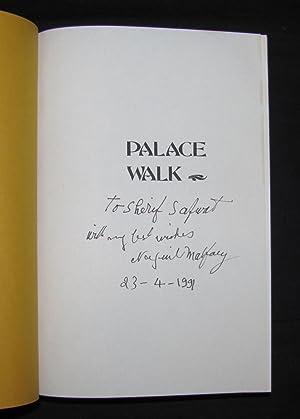 PALACE WALK: Naguib Mahfouz   translated by William M. Hutchins and Olive E. Kenny